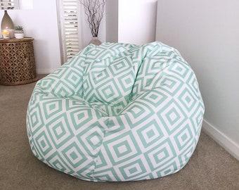 7889d3026ece Indoor Outdoor Bean Bag Modern Geometric Indoor Outdoor Kids