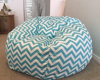 Phenomenal Pastel Bean Bag Etsy Machost Co Dining Chair Design Ideas Machostcouk