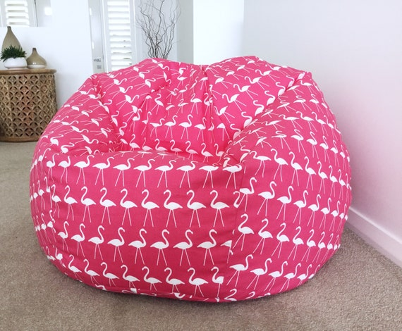 Strange Bean Bag Flamingo Kids Bean Bag Cover Pink Bean Bag Adults Bean Bag Hot Pink Girls Bean Bag Cover Creativecarmelina Interior Chair Design Creativecarmelinacom