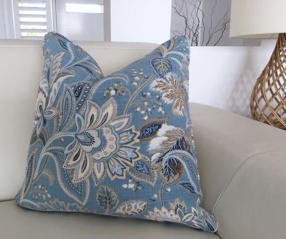 Hampton Style Airy Linens Fresh Blues: Hamptons Style Cushions Linen Cushions Hampton's