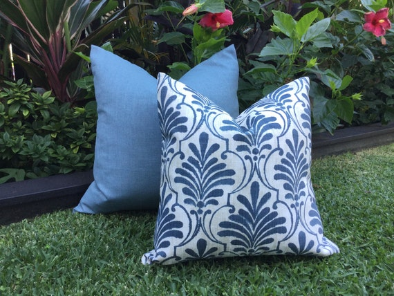 Outdoor Cushions Blue Outdoor Pillows Outdoor Cushion Covers Ecuador Slate Blue Modern Scatter Cushions Modern Pillows