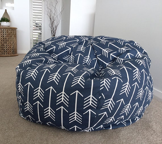 Astonishing Bean Bag Shooting Arrows Bean Bag Adults Bean Bag Kids Bean Bag Navy Blue And White Navy And White Pabps2019 Chair Design Images Pabps2019Com