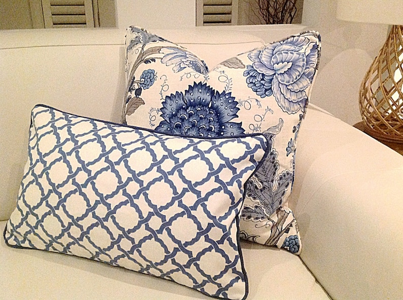 Hampton style Cover Aust Made With Genuine Linen