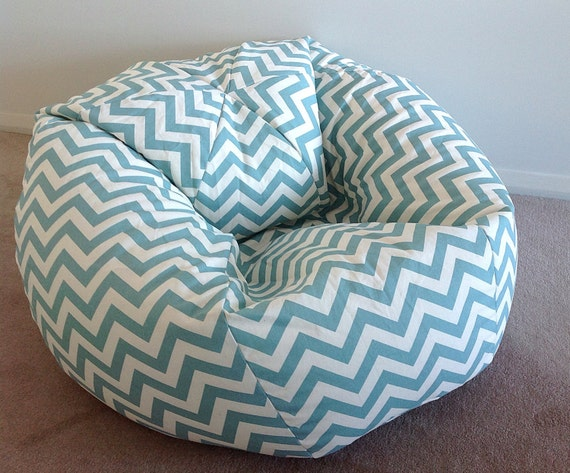 Magnificent Duck Egg Blue Bean Bag Zig Zag Chevron Adults Bean Bag Bean Bag Cover Coastal Blue White Duck Egg Blue Natural Navy Blue Teal Blue Squirreltailoven Fun Painted Chair Ideas Images Squirreltailovenorg