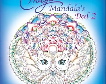Masja's Mandala's Part 2, colouring book , Masja van den Berg