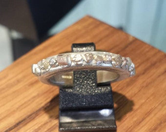 Raw Diamonds Ring