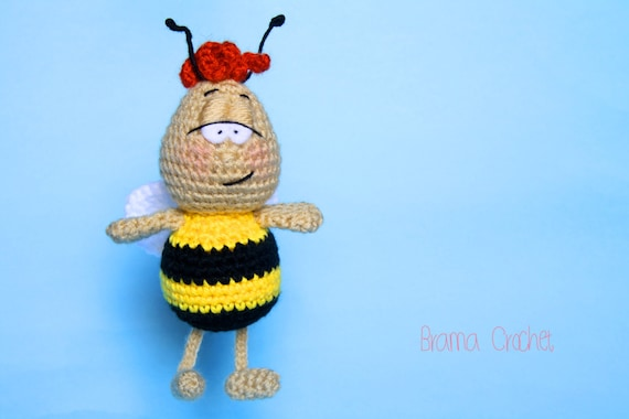 Busy Bee Amigurumi Free Crochet Patterns | Crochet patterns, Free ... | 380x570