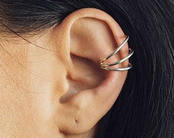 fd3de4c0c2270 925 Silver Earrings Threader Earrings Ear Cuff Hoops by OtisJaxon