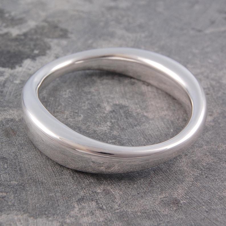 739d692b61f13 Chunky Silver Bangle-Silver Statement Bangle-Classic Bracelet-Sterling  Silver Bracelet-Silver Heavy Bangle-Modern Bracelet-925 Solid Bangle