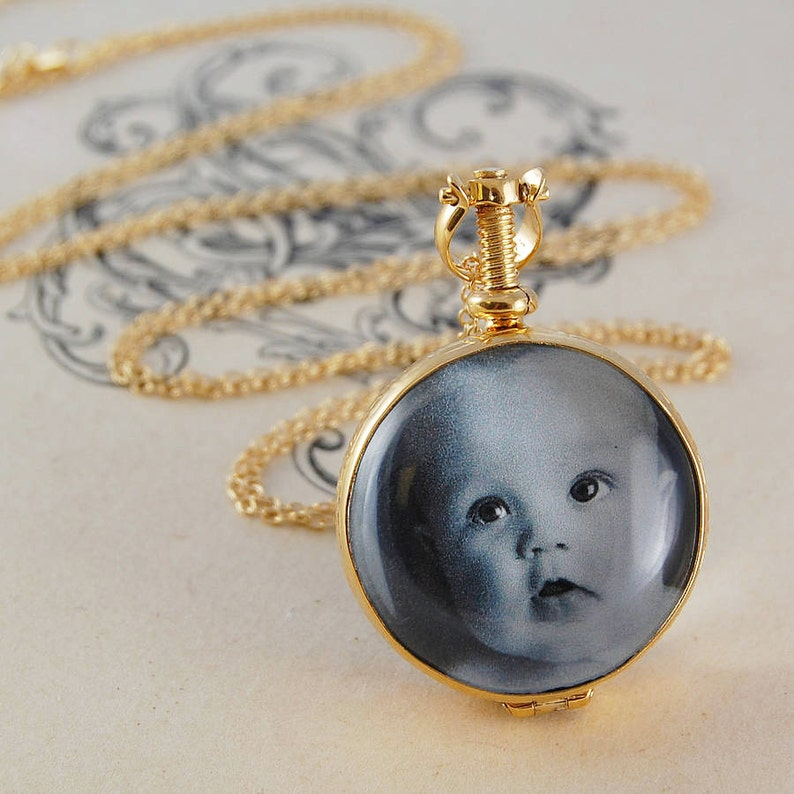 f6d04d787438c0 Personalised Necklace Gold Necklace Gold Locket Lockets   Etsy