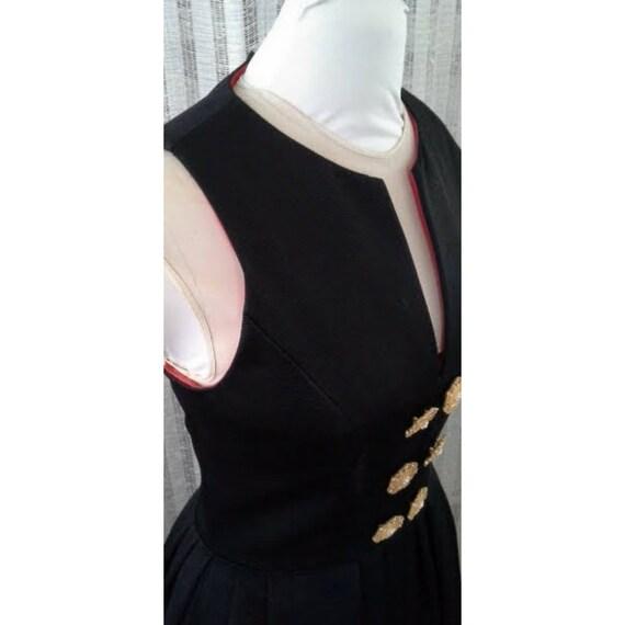 AJ Bari, Vintage, 1980s, Vintage Designer, Black … - image 4
