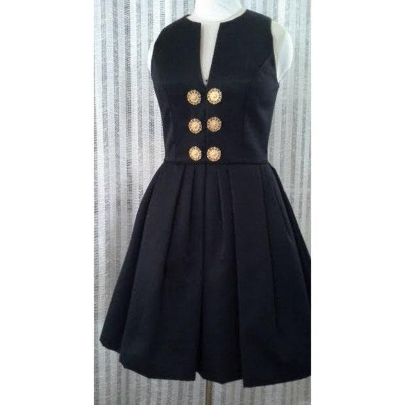 AJ Bari, Vintage, 1980s, Vintage Designer, Black … - image 1