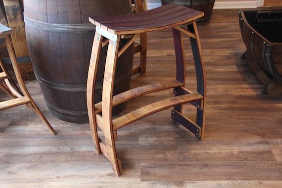 Wine Barrel Stool Patio Stool Outdoor Stool Bar Stool Etsy