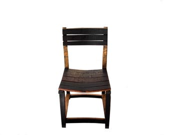 Stave chair/ Barrel Furniture/ Outdoor Furniture/ Patio Furniture/ Barrel Art/ Chair/Wine Barrel Chair/Dining room chair/ Stave Furniture