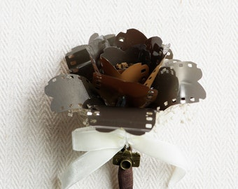 Film Rose Boutonniere