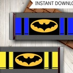 Batman Inspired Hershey Bar Wrappers