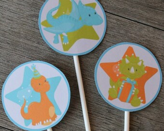 Dinosaur Party Circles - Smart Party Planning