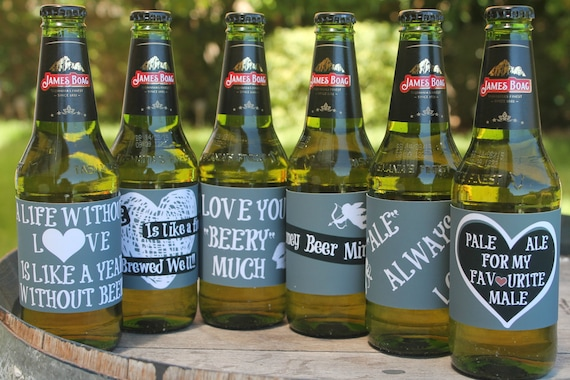 image about Printable Beer Labels referred to as Valentines Working day Printable Beer Labels / Beer Present / Chalk Board / Prompt Down load / Printable PDF Documents