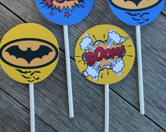 Batman Inspired Party Circles - Smart Party Planning