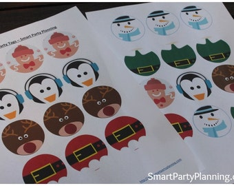 Cute Christmas Party Circles - Smart Party Planning