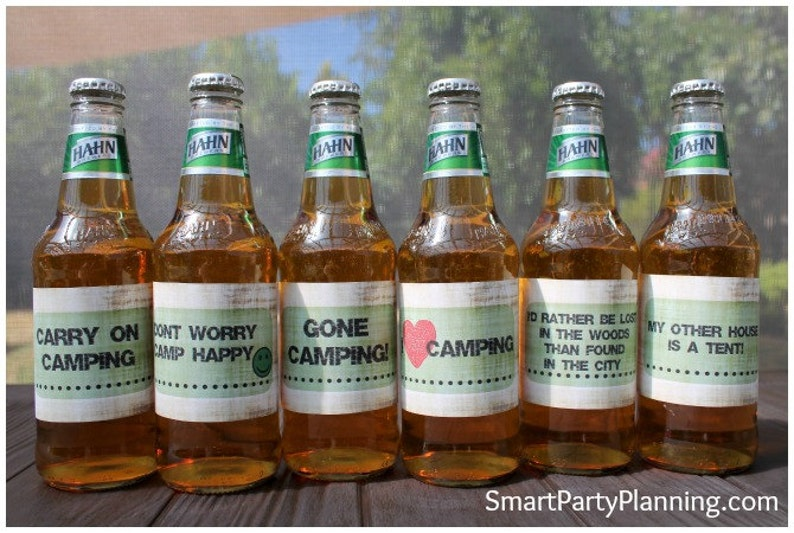 picture relating to Printable Beer Labels identified as Printable Tenting Beer Labels