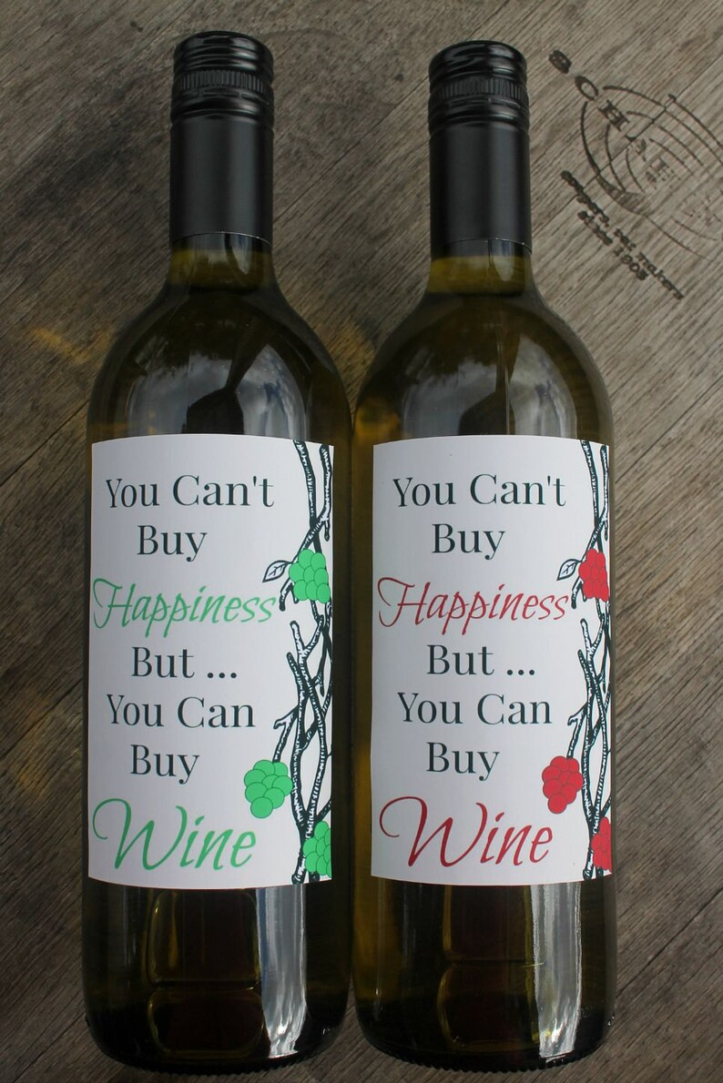 photo about Printable Wine Labels known as Printable Wine Label / Birthday Present / Wine Followers Present / Wine Label / Fast Obtain / Printable PDF Information
