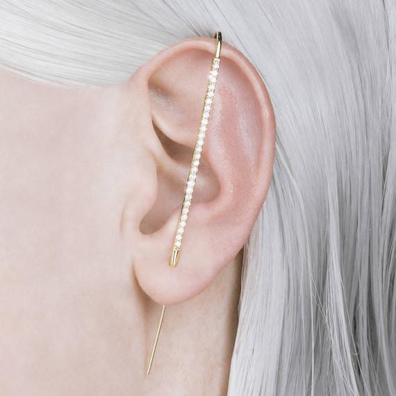 Scintillantes Menottes utiliser Autriche Cristal 18K Blanc Plaqué Or Collier