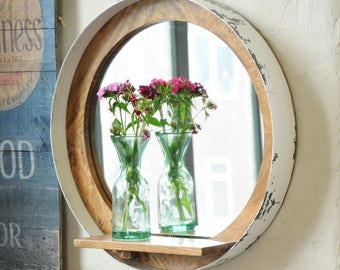 Reclaimed Wooden Mirror