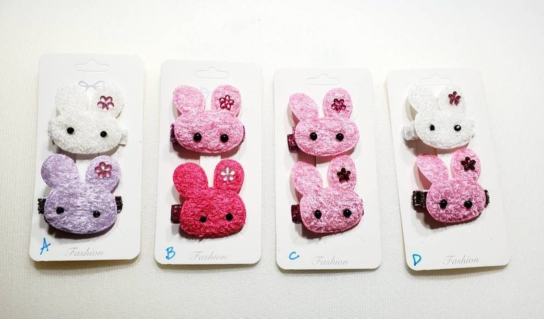 Clearance Toddler Bunny Hairclips