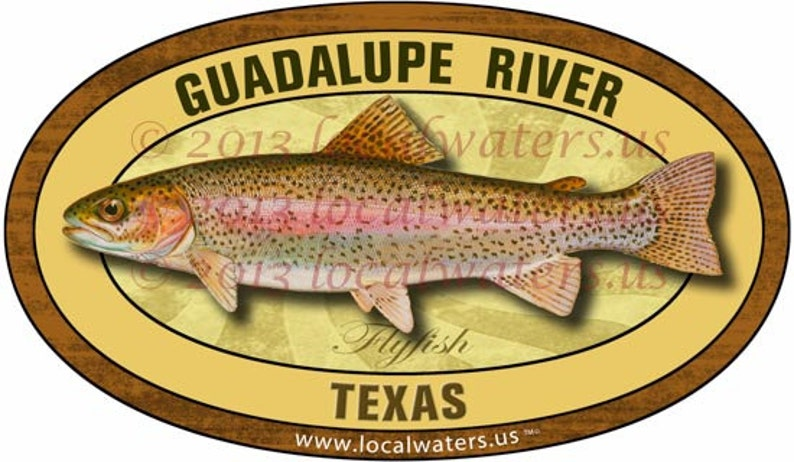 Firehole River Decal Fly Fishing Sticker GUARANTEED 3 years no fade
