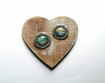 Limited edition | ornate style | 25mm brooch | Sound of Iona brooch | Summer solstice ~ Skye | landscape jewellery |Ailleagan Art