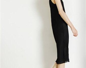 sheer 90s pintucked dress