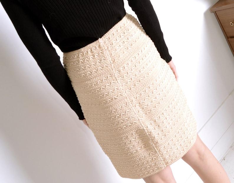 krizia 90s knit bandage skirt