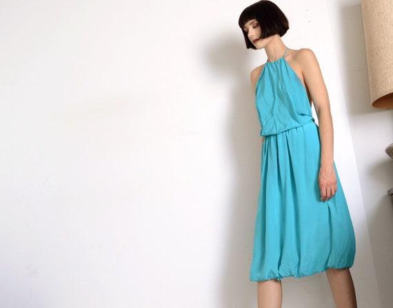 stephen burrows 70s halter dress