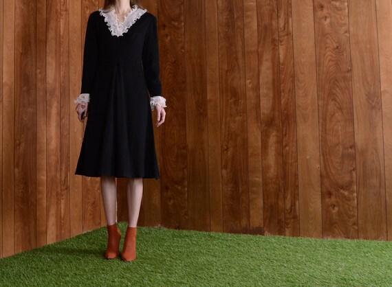 gothic 60s mod dress