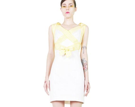 thierry mugler 90s bow dress