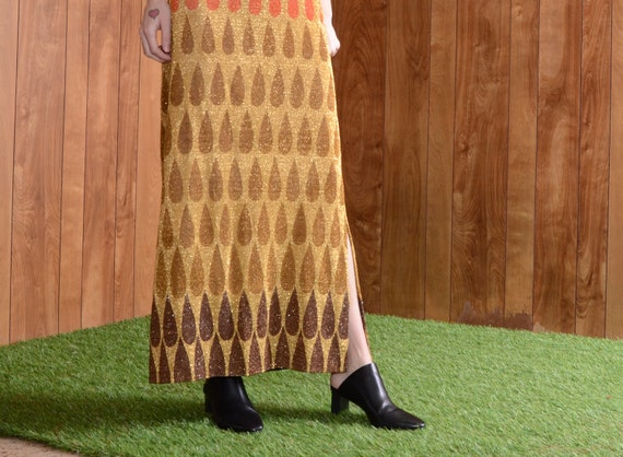 teardrop nelly de grab 70s skirt