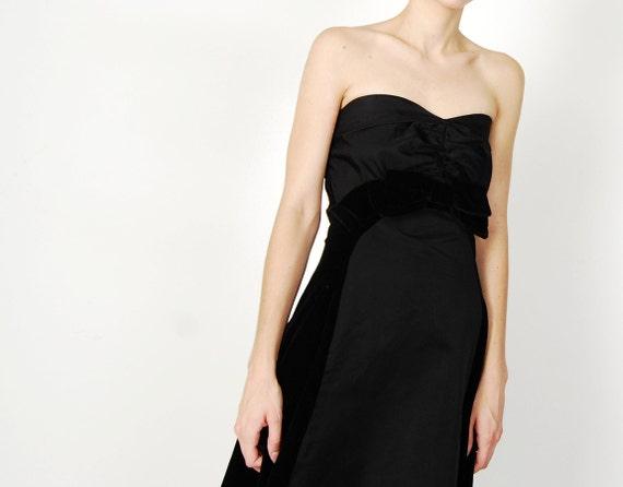 pin-up 50s bow dress