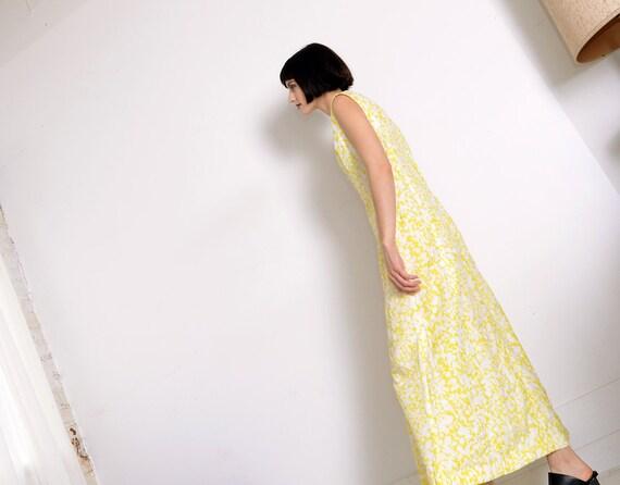 70s a-line floral dress