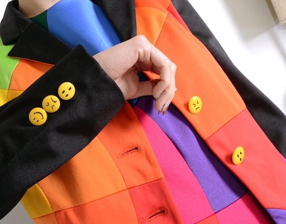 moschino 90s emoji suit