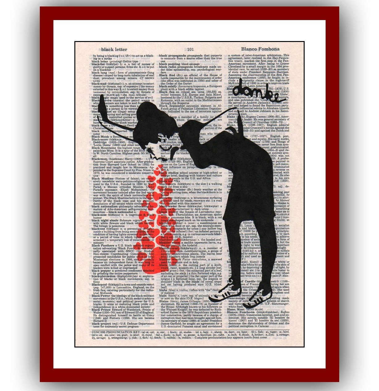 Liebeskummer hat Banksy Liebe krank Poster 8 x 10 Urban Street   Etsy