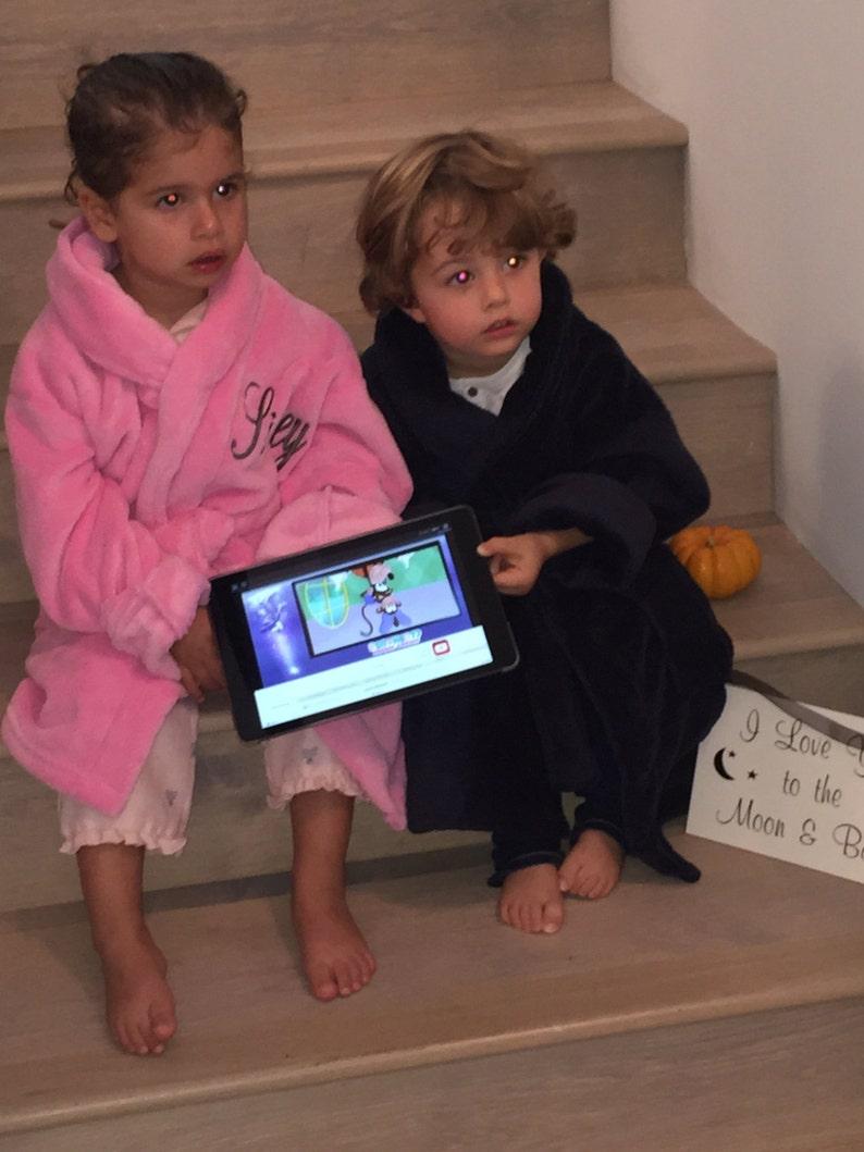 On Sale Childrens Bathrobe Boys Robe Girls Etsy