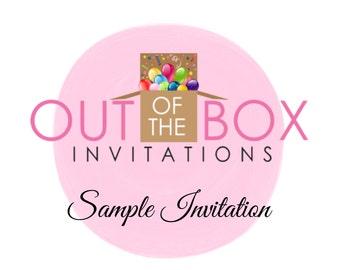 generic invitations etsy