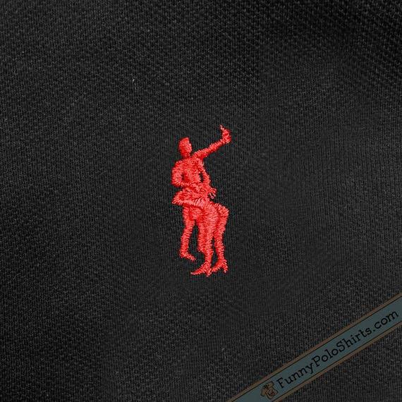 Polo Ralph Lauren Parody Funny Polo Shirt Etsy