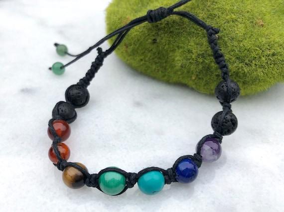Chakra Bracelet // Essential Oils Bracelet // Meditation Bracelet
