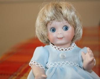 Vintage Recreated German Googlie Eyed Doll