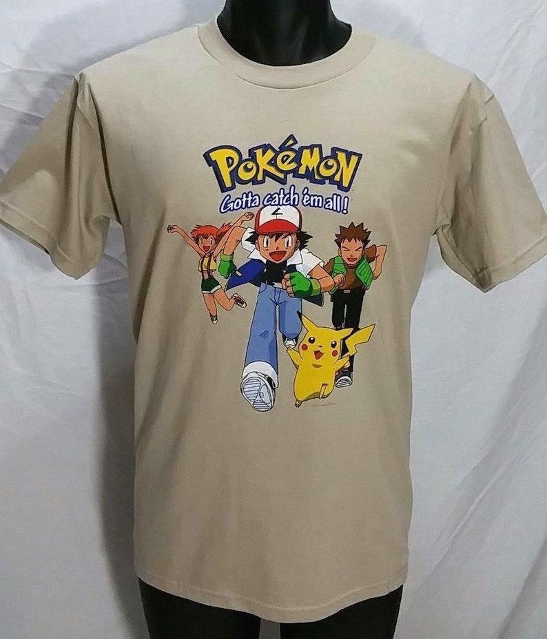 fbaaaf23 NOS Vintage Pokemon Gotta Catch Em All T Shirt Kids XL Adult S | Etsy