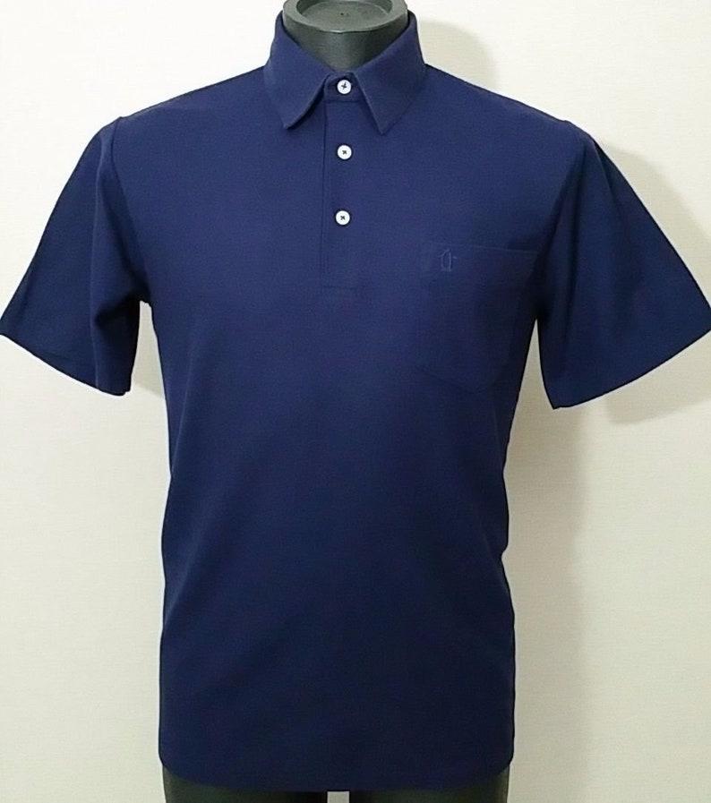 c8755e807953 Vintage Munsingwear Golf Polo Shirt Men s Blue PENGUIN MOD