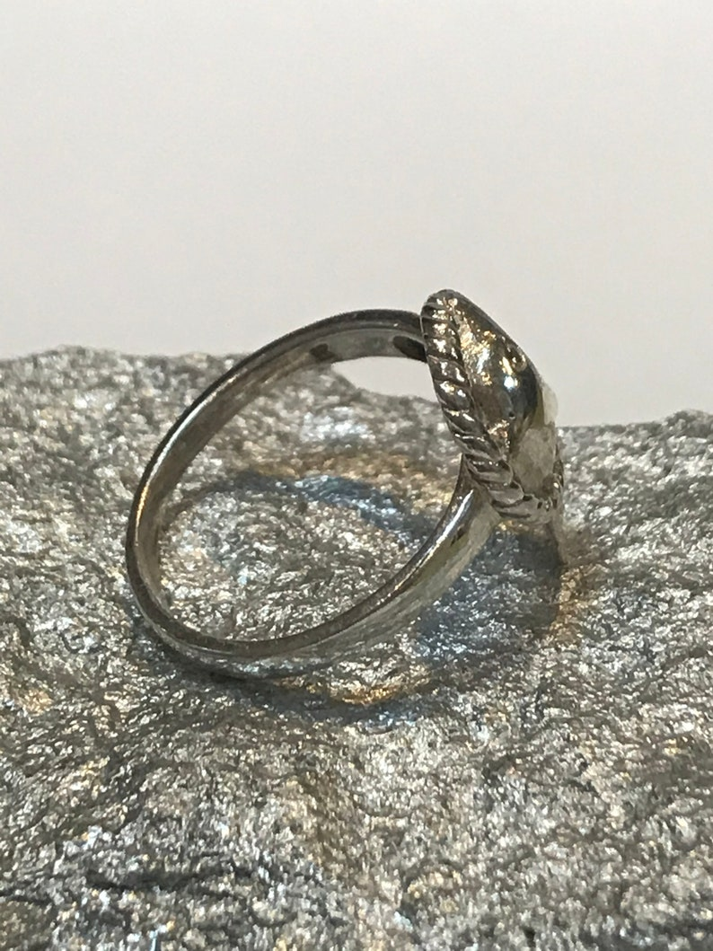 Sterling Dolphin Ring Sz 6.5 925 Silver Band Vintage Southwestern Jewelry Birthday Christmas Anniversary Gift Boho Nautical Fish Ocean Sea