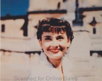 Audrey Hepburn Roman Holiday 4x6 Photo